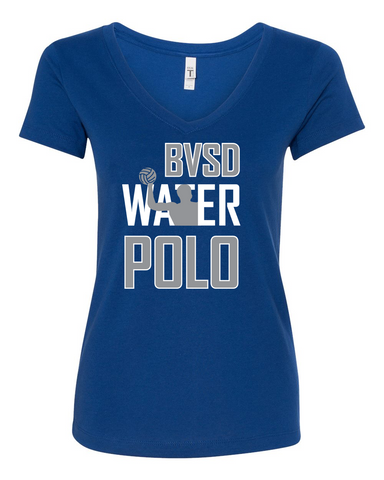 BVSD Water Polo Ladies V Neck