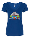 Colorado Bus Ladies V Neck