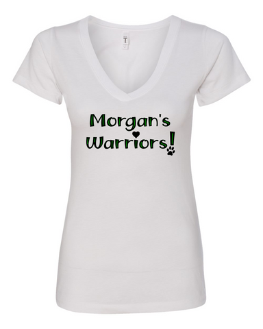 Morgan's Warriors Ladies V Neck
