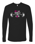 10TH ANNUAL SURGE BARBELLS FOR BOOBS UNISEX LONG SLEEVE
