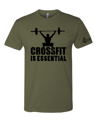 Crossfit SURGE is Essential Mens Shirt