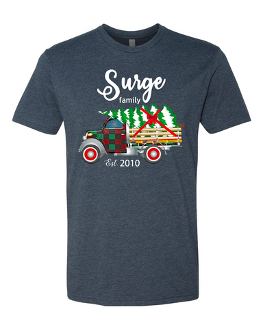 Surge Family Christmas Shirt