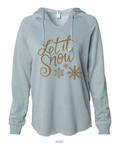 Shirt Shop Let it Snow Hoodie