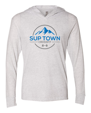 Sup Town Hooded UNISEX Long Sleeve