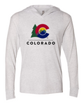 New Colorado Branded Hooded Shirt