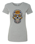 Shirt Shop Flower Skull
