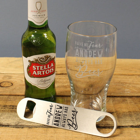 Have No Fear Personalised Stella Gift Set