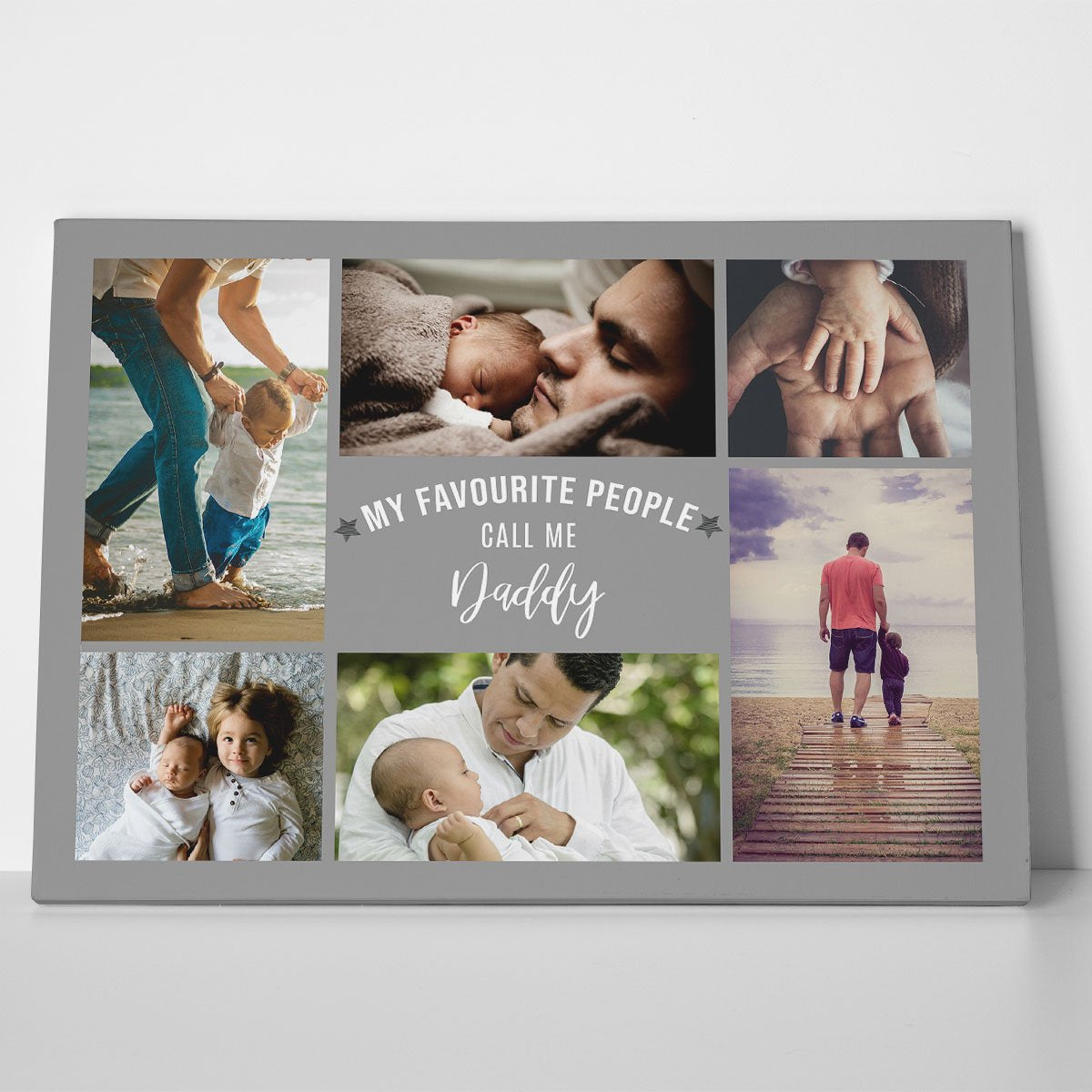 My Favourite People Call Me Photo Canvas Print