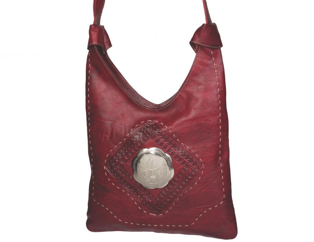 Marrakech Bag - Dark Red