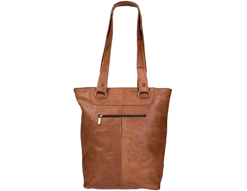 Rihani Moroccan Leather Tote