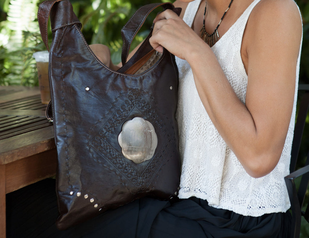 Marrakech Bag - Brown
