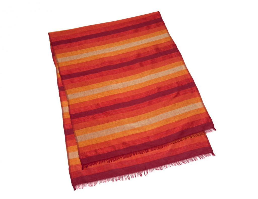 Sunset Stripe Table Runner / Scarf