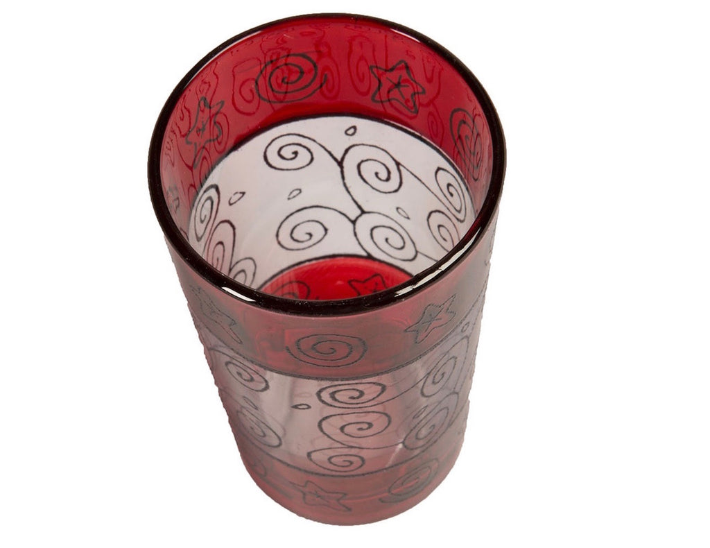 Fez Striped Tea Glasses