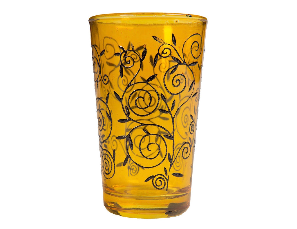 Zagora Full Color Tea Glasses