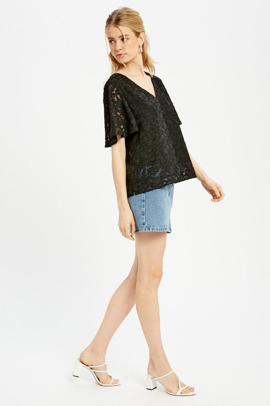 PENCHANT FOR FLORALS TOP