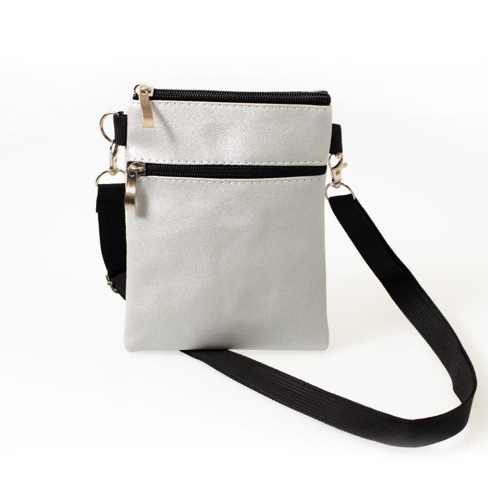DE MODA CROSSBODY BAG METALLIC
