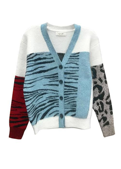 LET'S MIX IT UP CARDIGAN