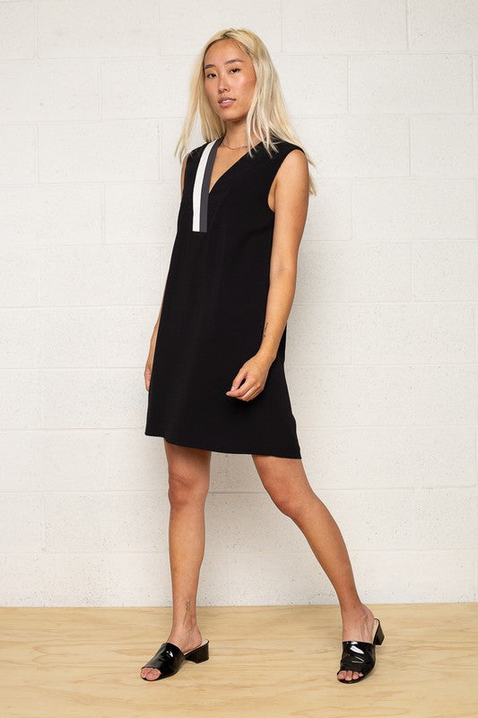 BLAISE CONTRAST DRESS