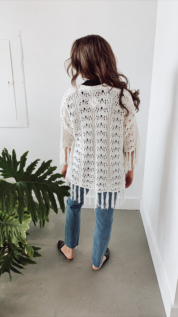 HOLLY CROCHET CARDIGAN