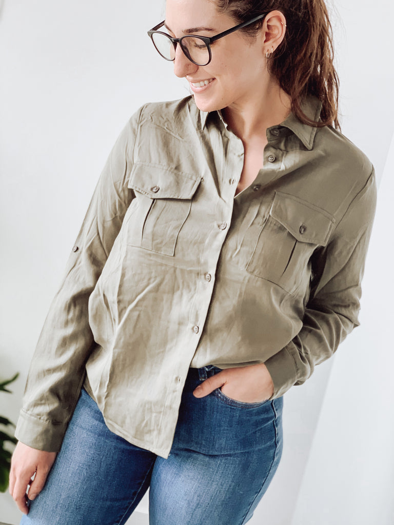 SAFARI BUTTON SHIRT