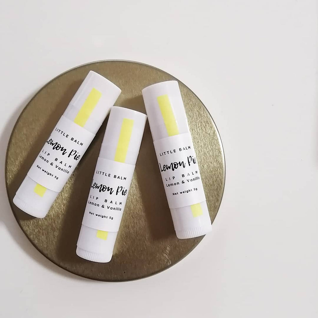 Lip Balm: LEMON PIE