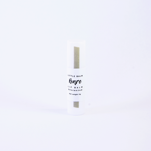 Little Balm Bare unscented lip balm