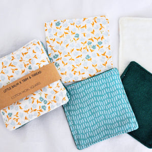 Cotton Facial Squares: Summer Garden