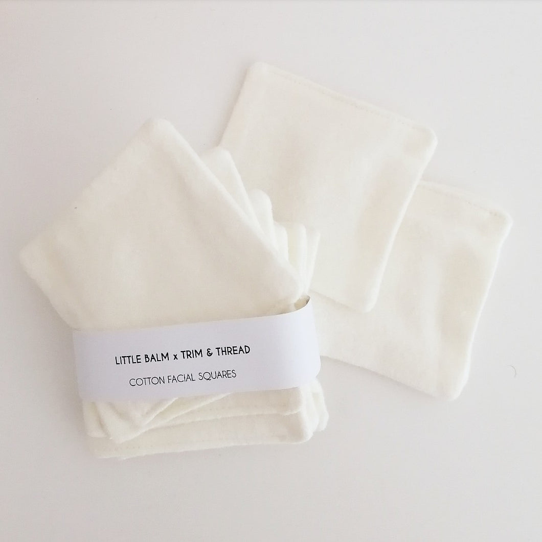 Cotton Facial Squares