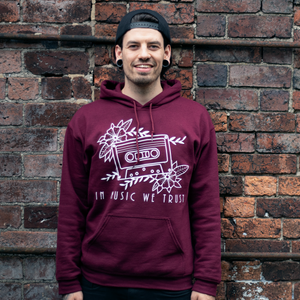 The Cassette - Hoodie (Burgundy)