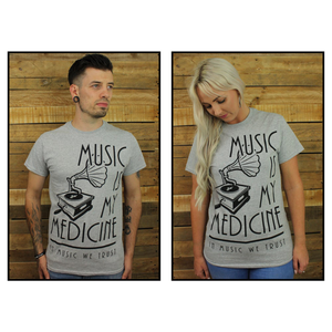 The Gramophone - Tee (Grey)