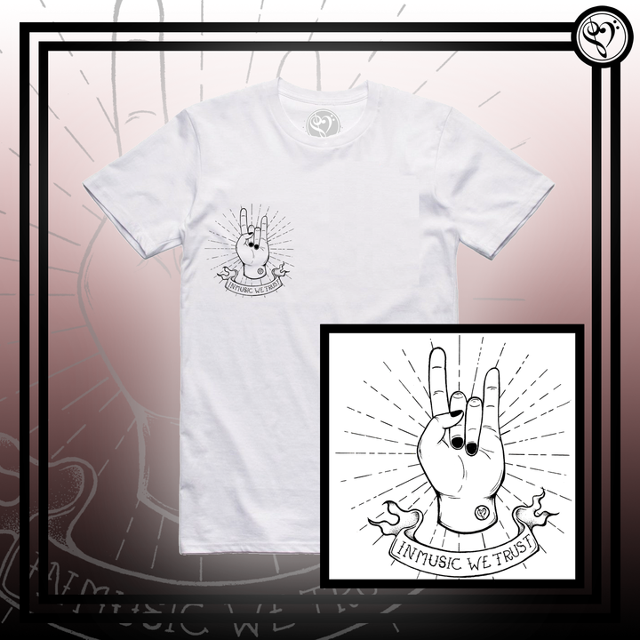 The Horns - Tee (White)