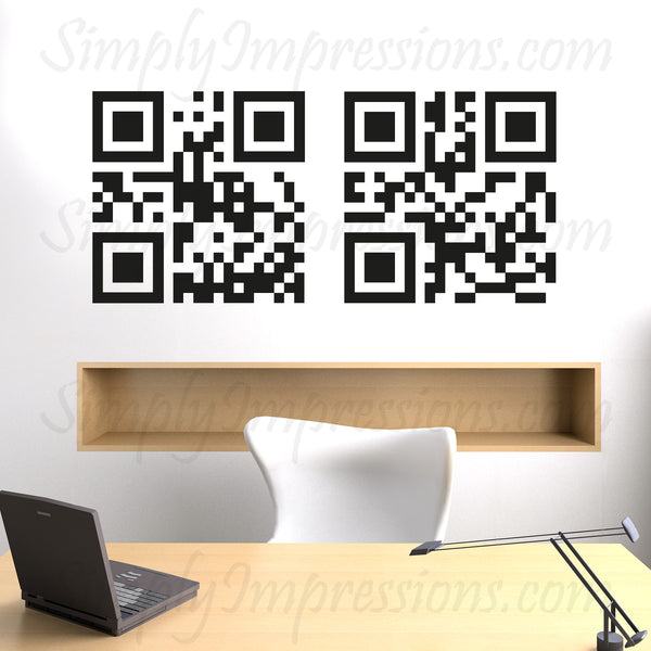 Allah Mohammad Arabic calligraphy, Islamic wall car vehicle Art. Interactive arts for your desire (Irada). Our QR code can be scanned to read Allah & Muhammad, playful modern decoration for the car, windows displays, & walls.