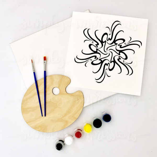 Allah Is Infinite Painting Craft Kit