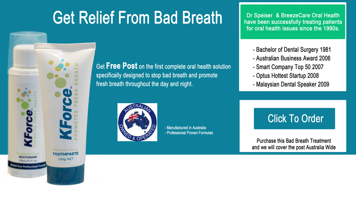 KForce Bad Breath Solution with Free Post
