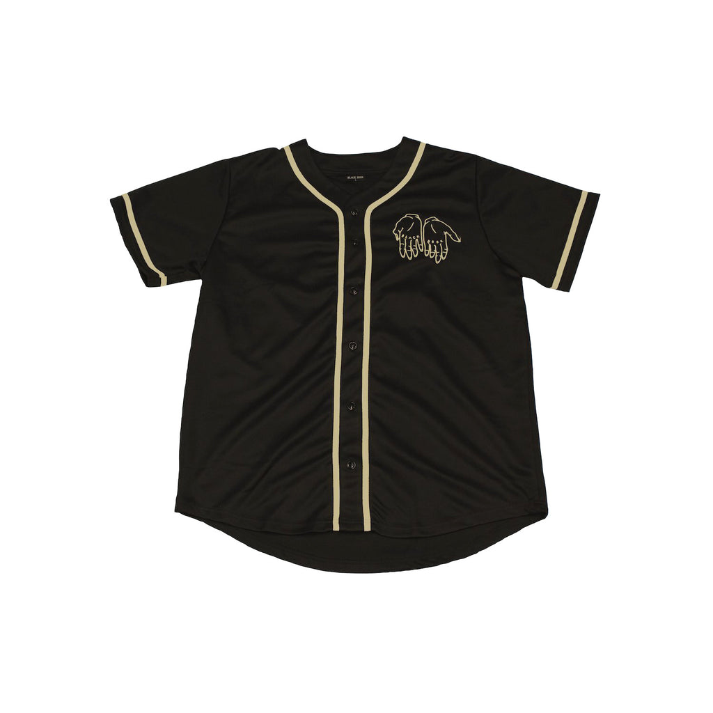 BLACK BOOK BASEBALL JERSEY