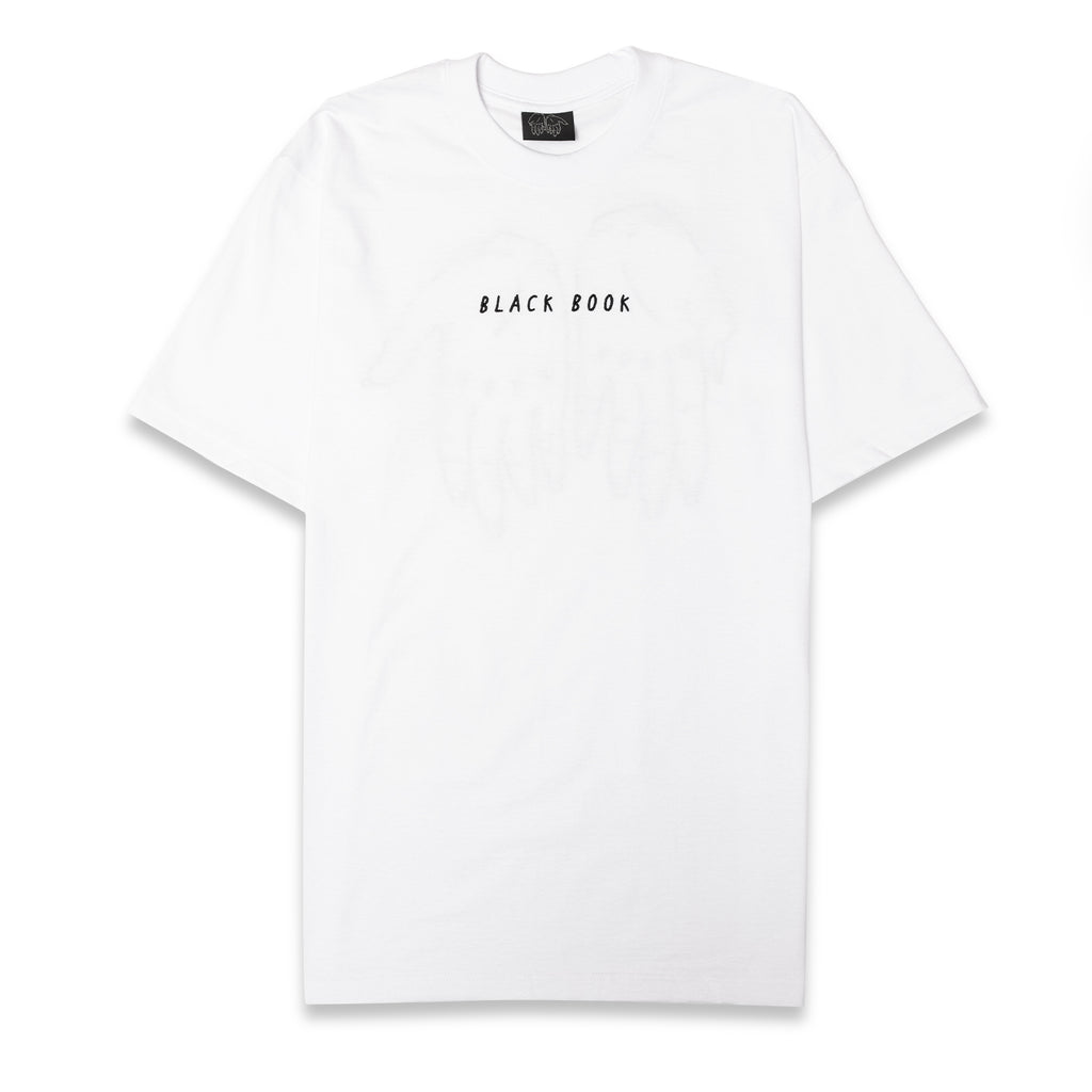 WHITE BLACK BOOK TEE