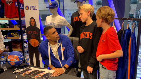 FISLL Young Fans meet Allan Houston