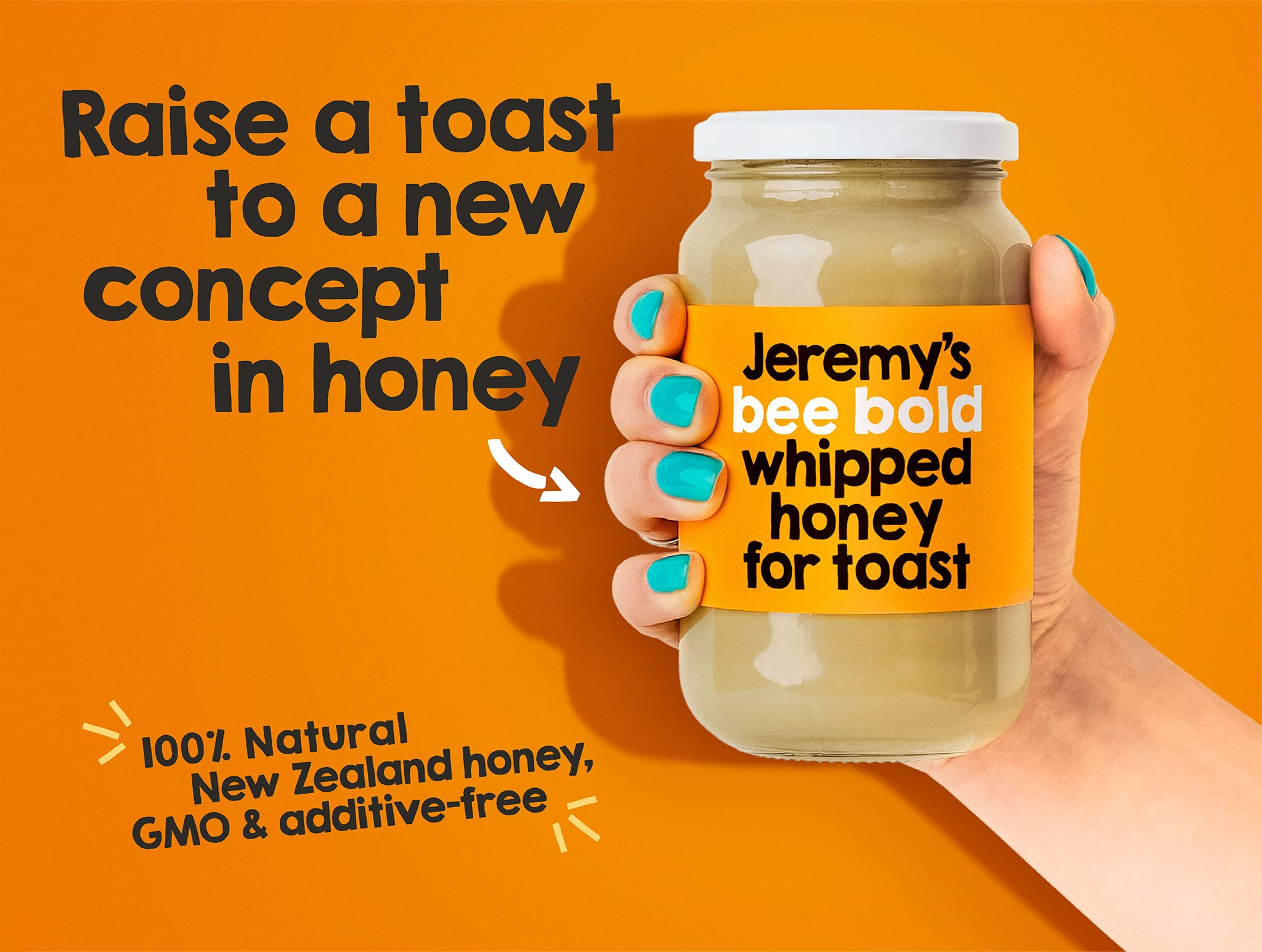 Jeremy's Whipped Honey for Toast