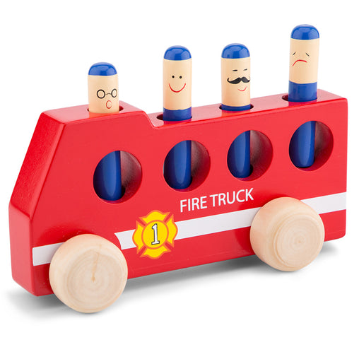 New Classic Toys Pop Up Fire Truck