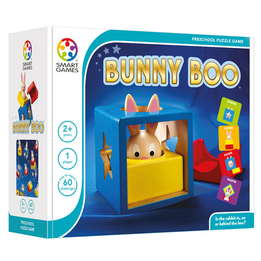 Smart Games Bunny Boo Single Player Multi Level Logic Puzzle Challenge