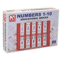 Coko Numbers 1 to 10 Set of 30 Packaging