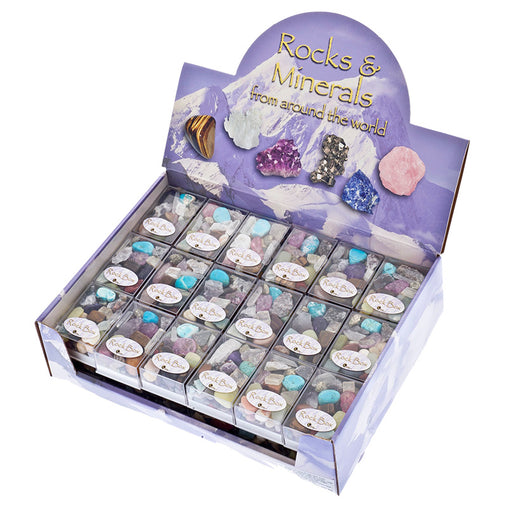 British Fossils Rocks and Minerals in a Box POS