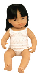 Miniland - Doll Asian Girl 38cm