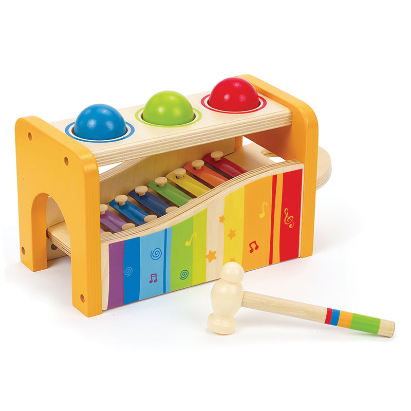 Hape Early Melodies Musical Pound and Tap Bench