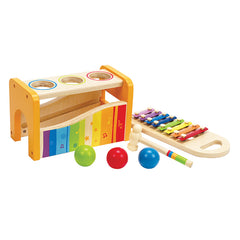 Hape Early Melodies Musical Pound and Tap Bench 2