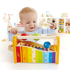 Hape Early Melodies Musical Pound and Tap Bench Toddler