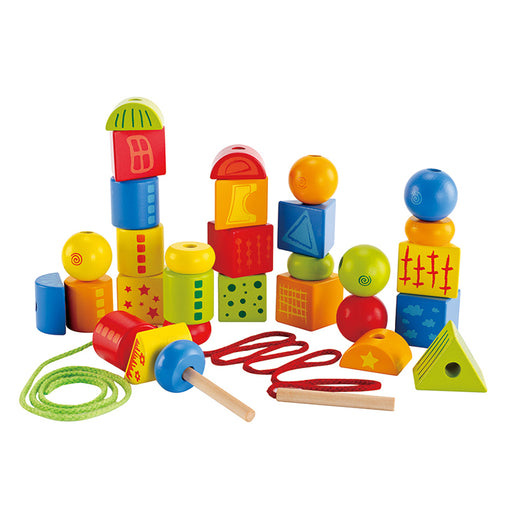 Hape String Along Shapes