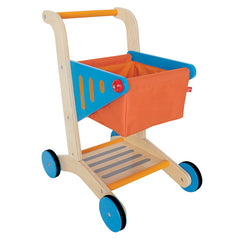 Hape Wooden Shopping Trolley Cart