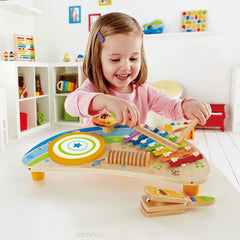Hape Mighty Mini Band Musical Toy Girl Playing