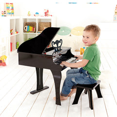 Hape Grand Piano 30-Key Boy Playing